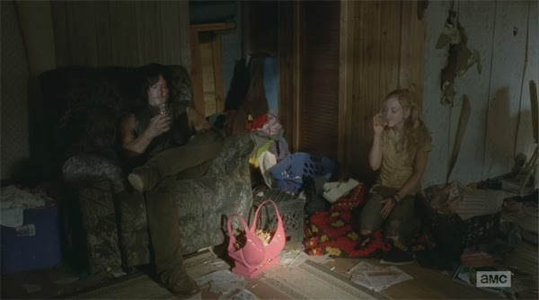 Beth y Dary en el capitulo 4x12 de The Walking Dead