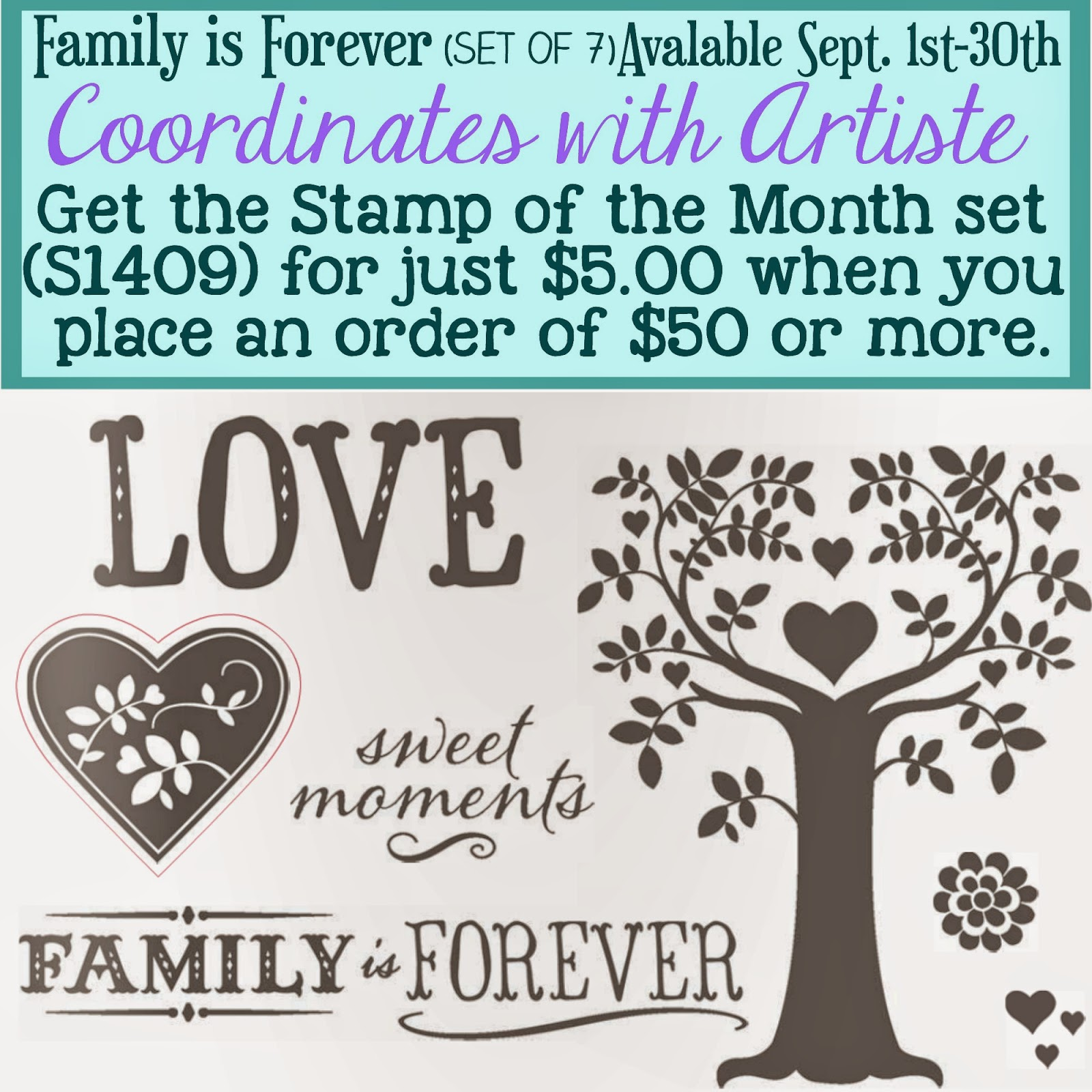Close to My Heart Stamp of the Month