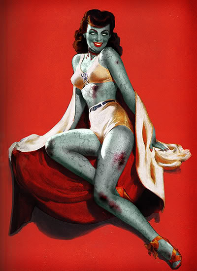 Zombie Pin Up No. 3