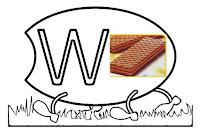 Alfabeto centopeia letra W