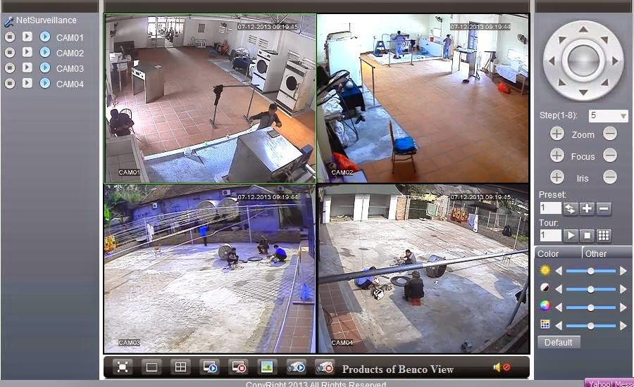 Camera Benco trong nhà BEN-706 CVI