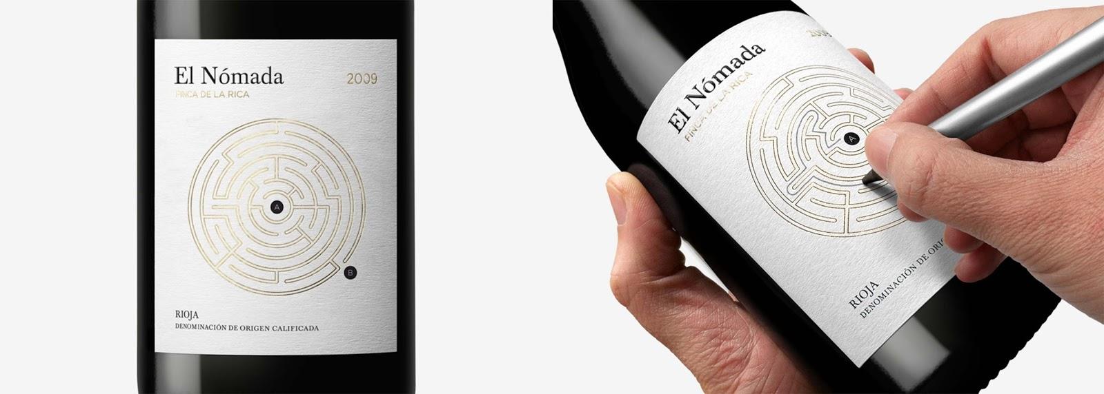 Super Packaging creativo per i vini spagnoli Finca De La Rica by Dorian  SF89