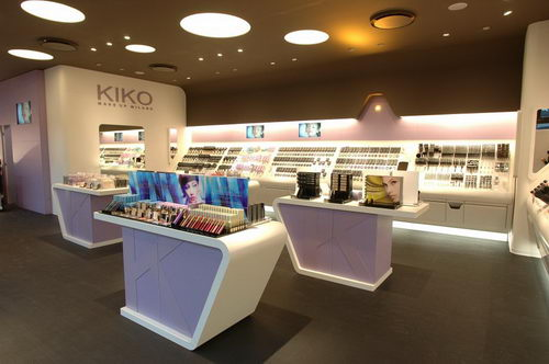 Kiko Make Up Milano Interior Design