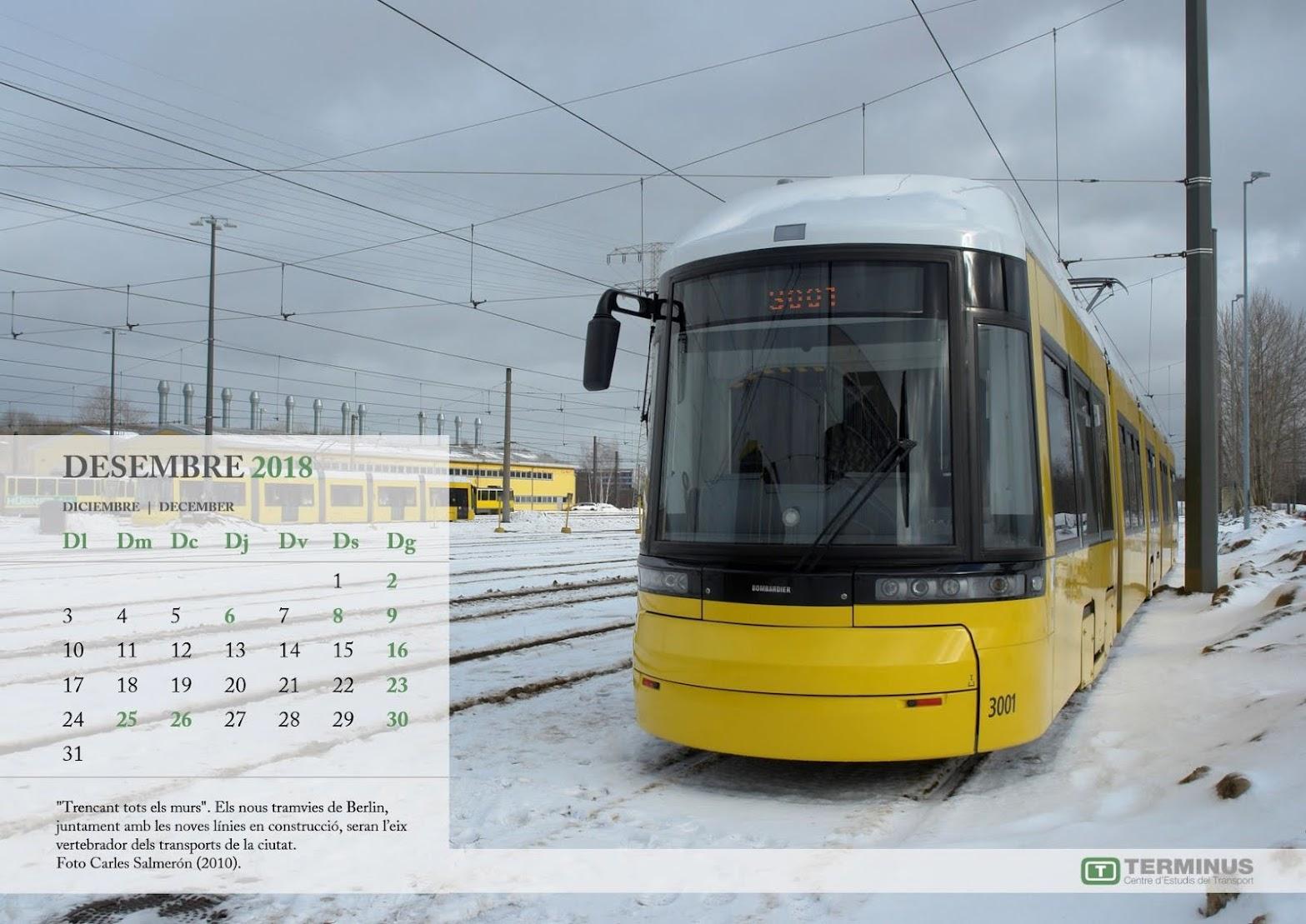 Calendari - DESEMBRE 2018