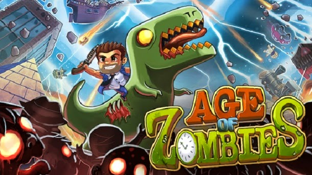 Sobreviva a invasões zumbis em Age of Zombies