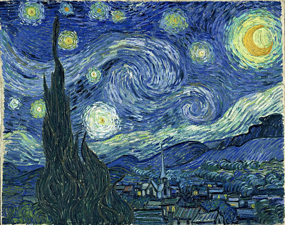 La nuit étoilée Vincent Van Gogh