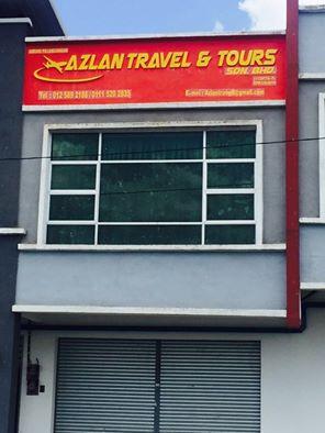 AZLAN TRAVEL & TOURS SDN BHD / BANDAR BARU SIMPANG AMPAT ALOR GAJAH MELAKA