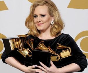 Adele gana el Grammy 2012