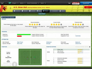 Configurate Football Manager