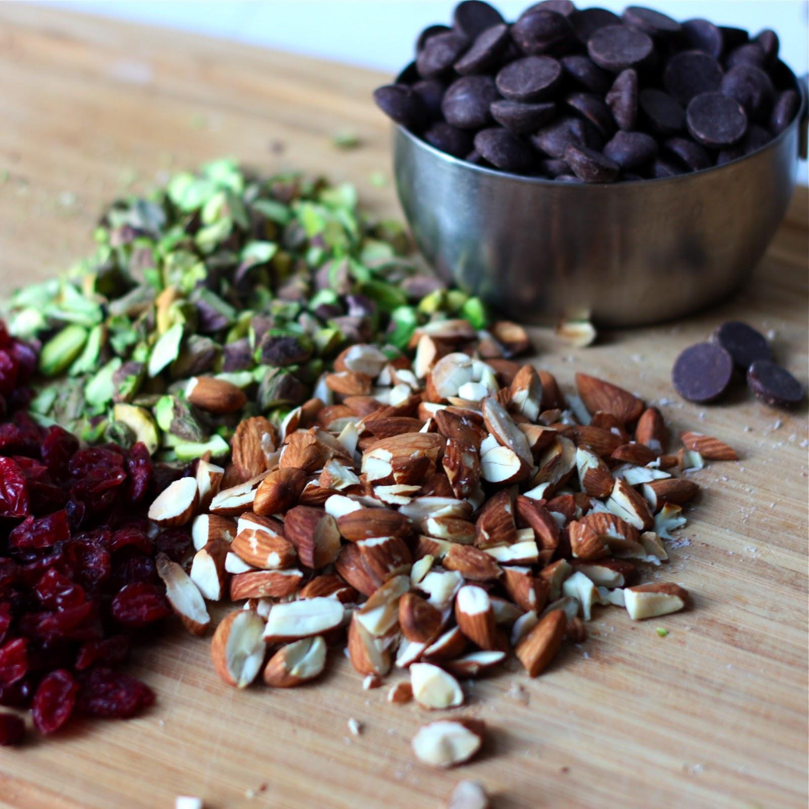 Dark Chocolate-Toffee Matzah Bark with Pistachios, Almonds ...