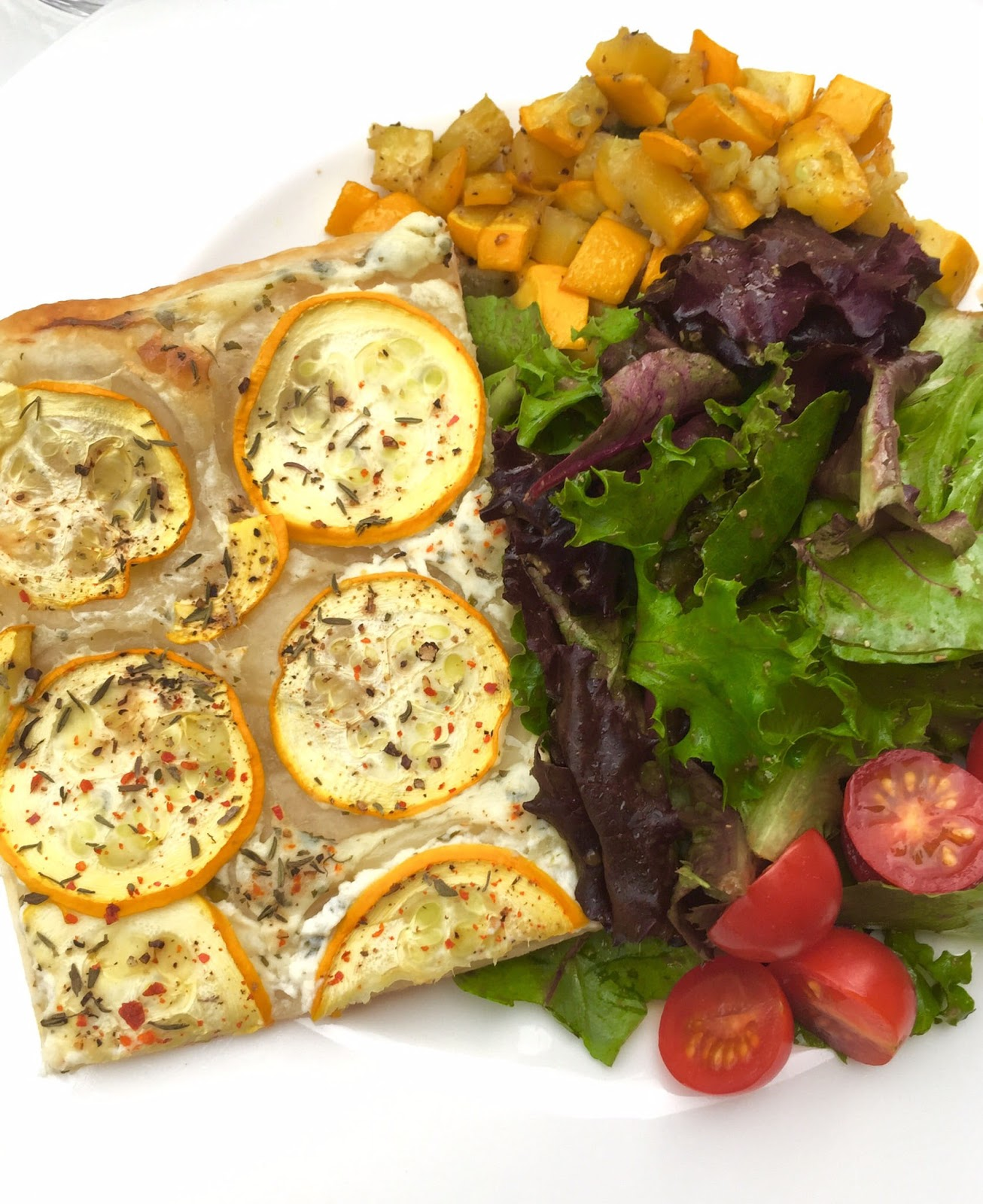 CUISINER BIEN : Schnelle Zucchini-Tarte