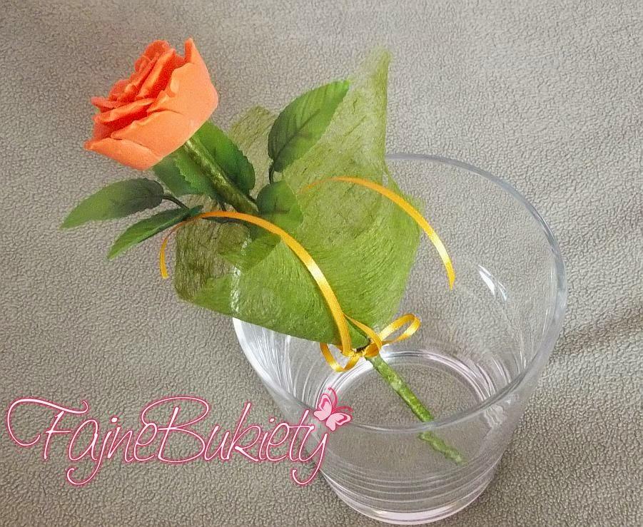 Róża - mydełko glicerynowe