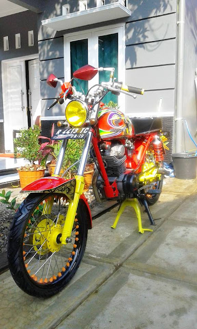 Foto Modifikasi Honda CB dari Group C B I