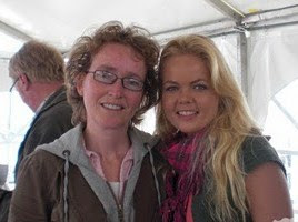 Met Sita racen tegen kanker op Assen 2009.