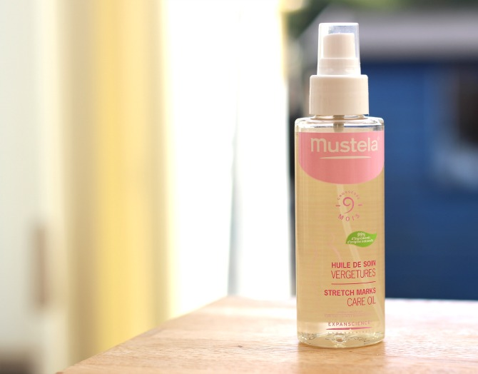 Mustela 9 month stretch marks care oil