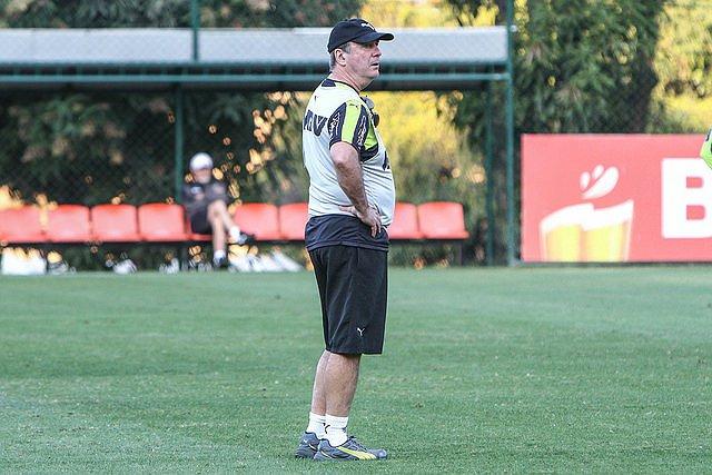 Levir Culpi valorizou o ponto conquistado fora de casa contra o Goiás (foto: Bruno Cantini/Atlético-MG)