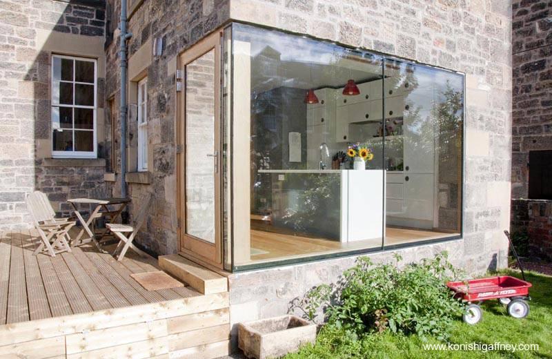 Arquitectura de casas reforma y modernizaci n de cocina for Ampliacion de cocina comedor
