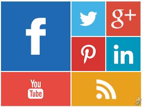 Metro UI Style Social Media Widget untuk Blogger