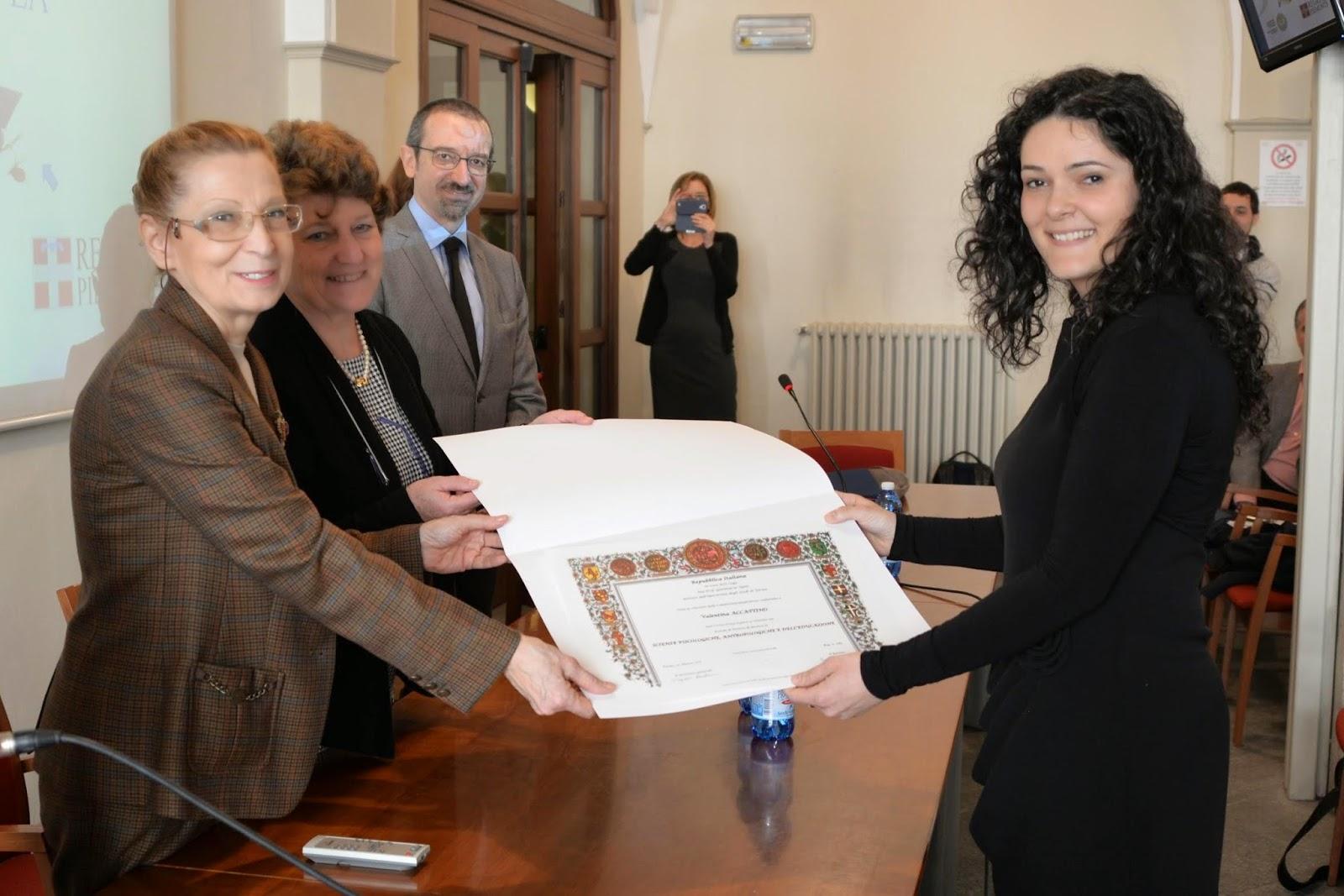 Dottore di ricerca in Alto Apprendistato Valentina Accattino