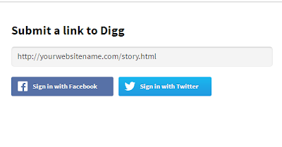 Submit link to Digg
