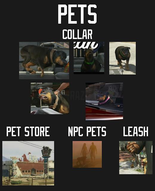 GTA V Pets