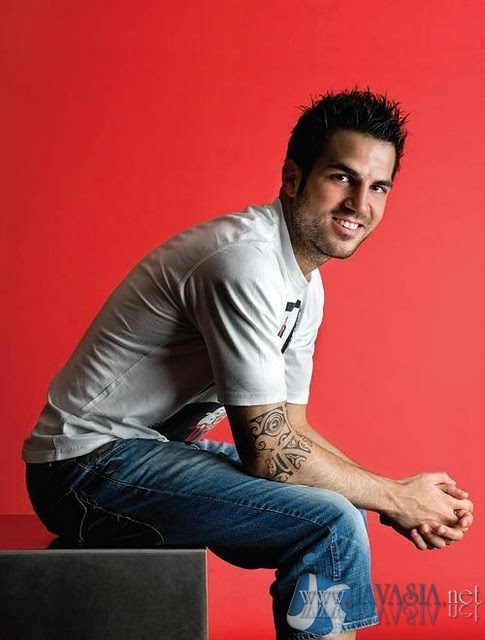fabregas tattoo. Black Bedroom Furniture Sets. Home Design Ideas