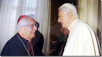 Benedicto XVI felicita al Cardenal boliviano por sus 75 años