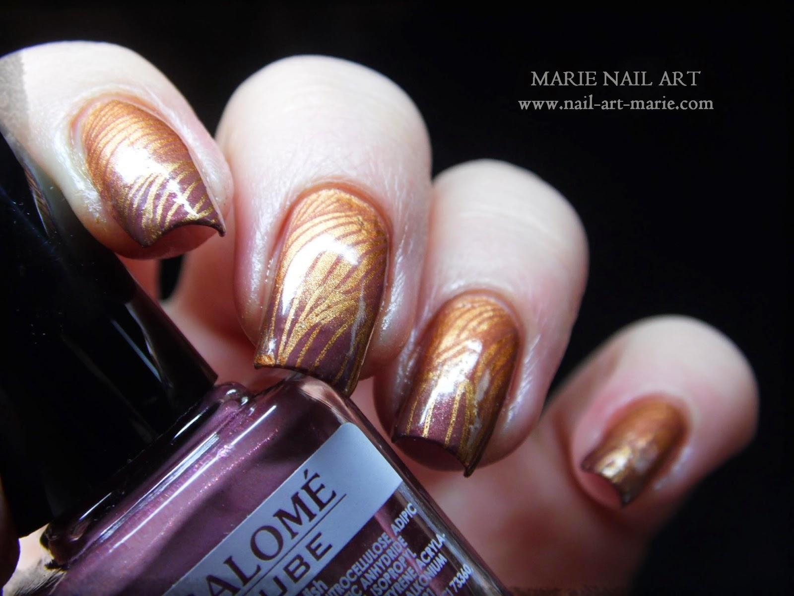 nail art double dégradé9