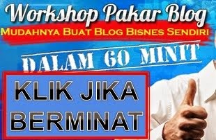 Workshop Pakar Blog Best!!!