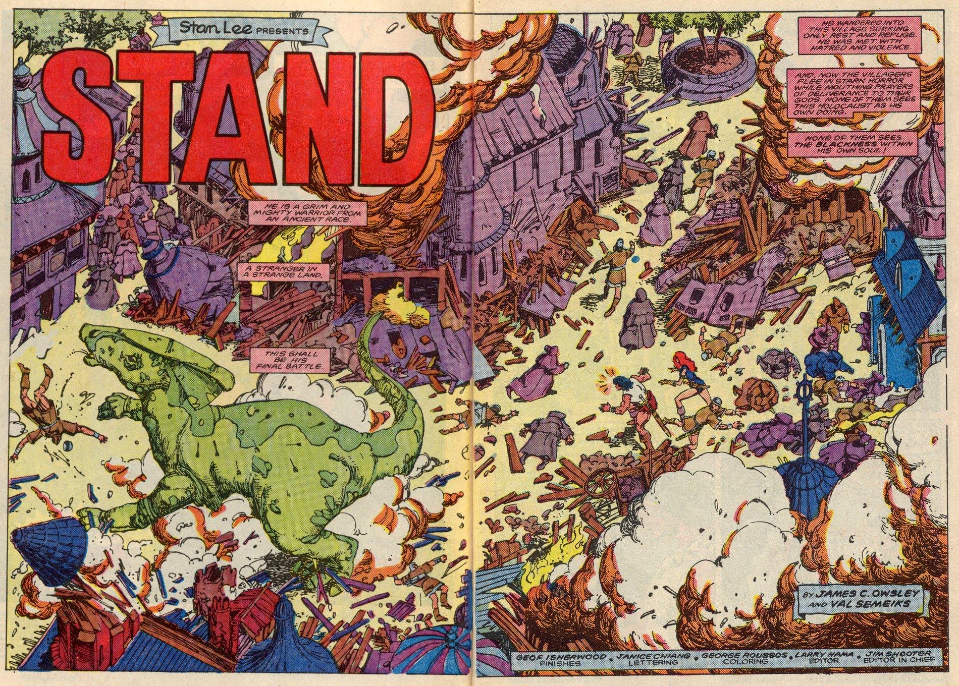 Conan the Barbarian (1970) Issue #197 #209 - English 3