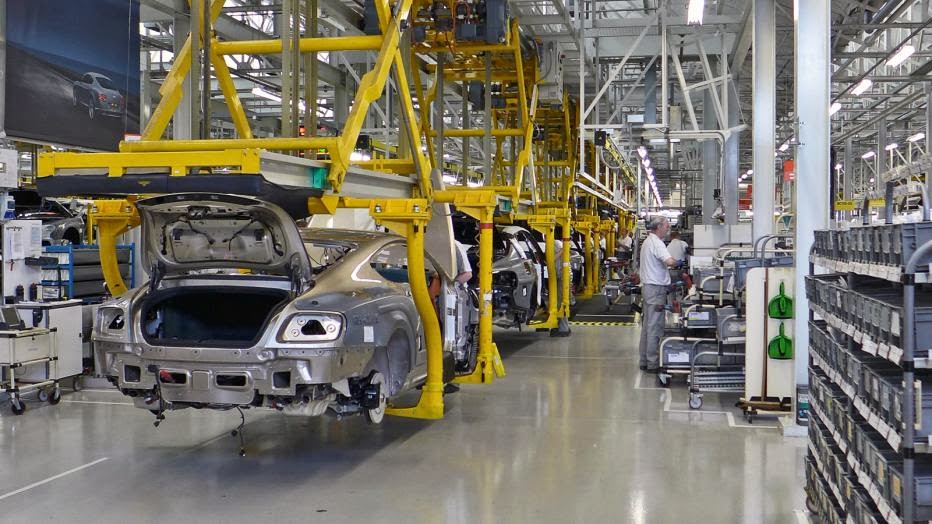 Where Continental GTs are born: Visiting the Bentley factory at Crewe