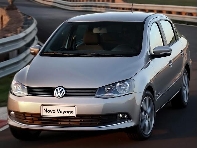 VW Voyage - carro mais roubado do Brasil