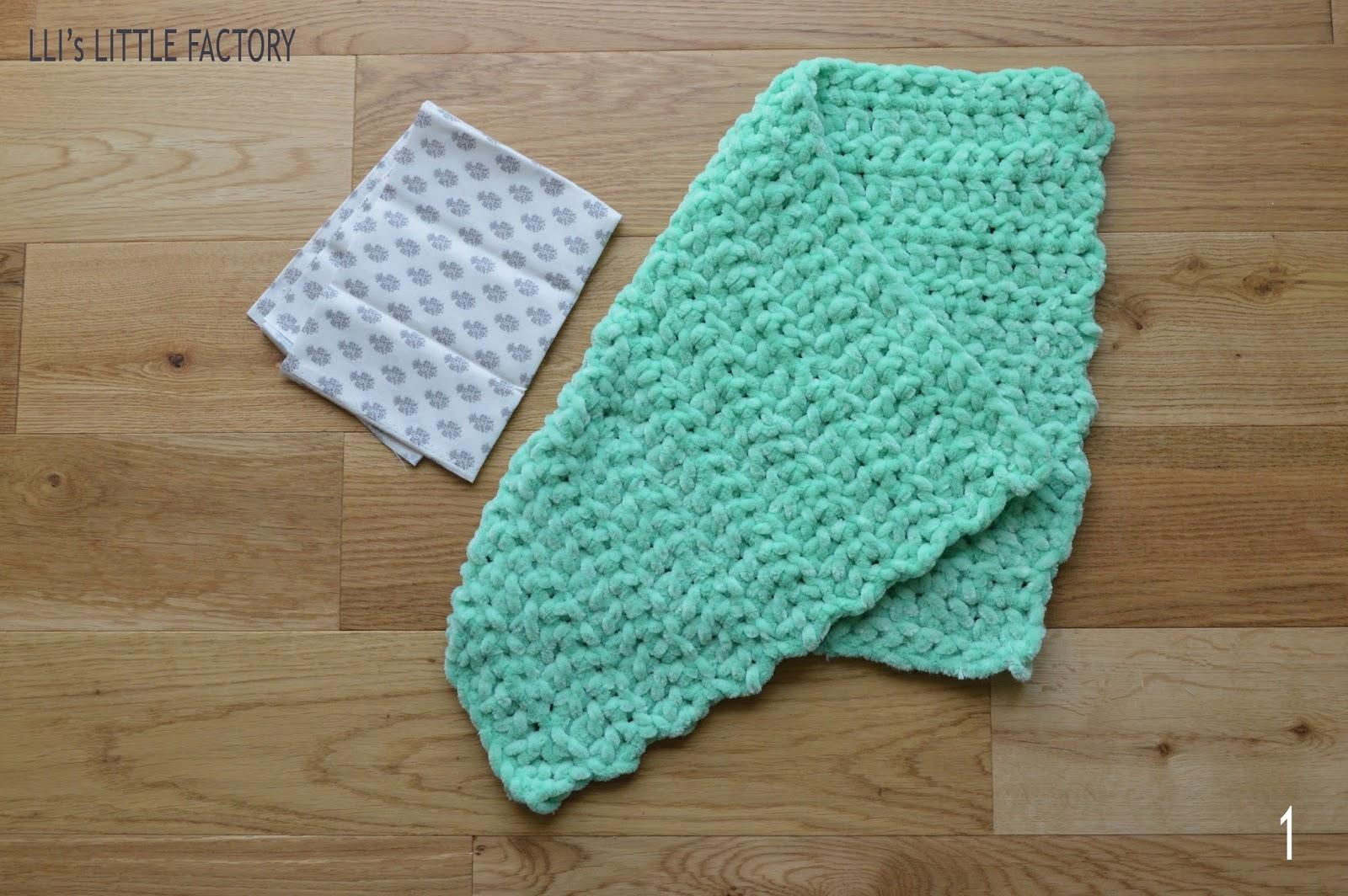 I love cushion mon coussin laine tissu et crochet - Demi bride au crochet ...