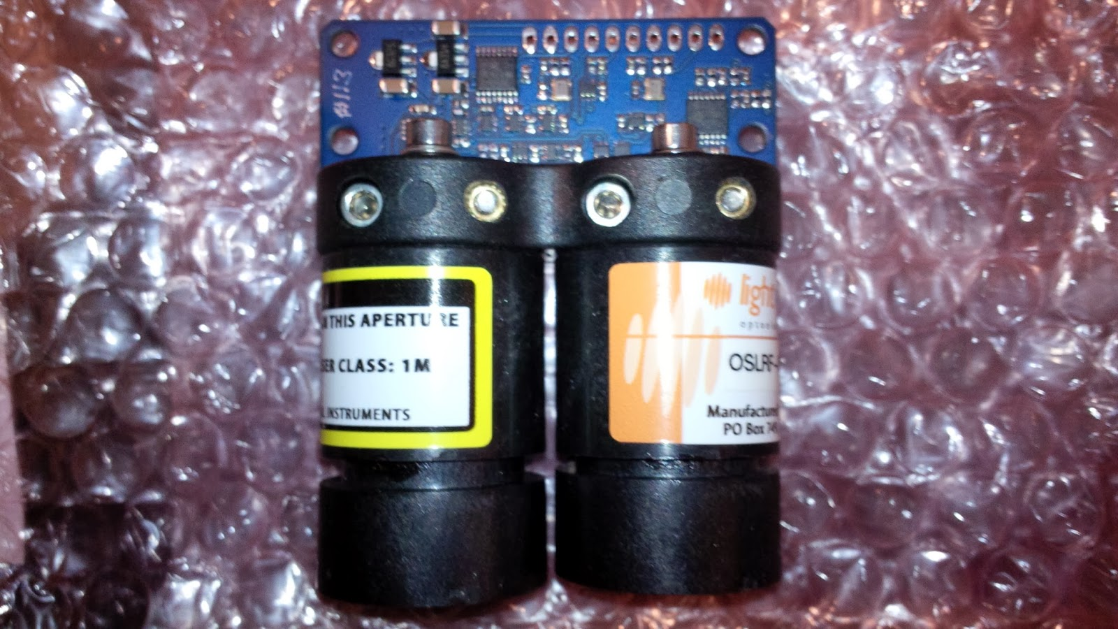 Arduino pi ramblings my new oslrf open source laser range