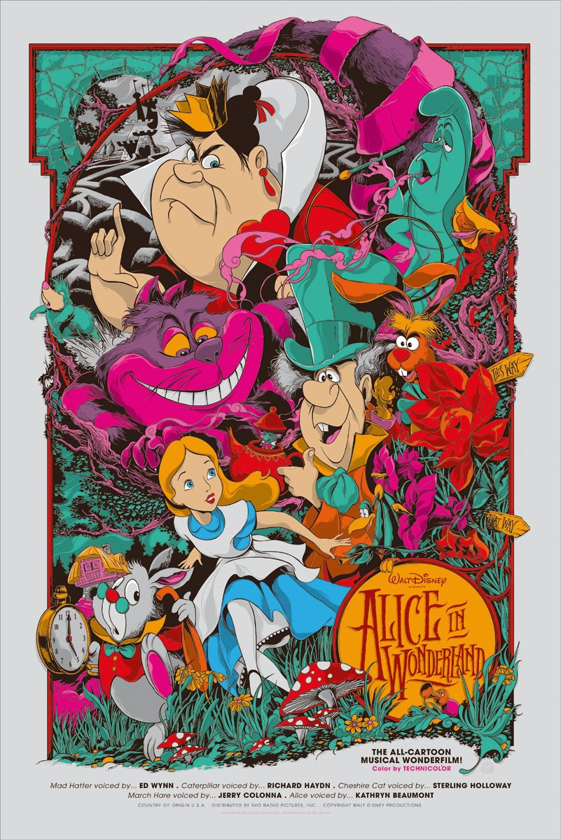 Posters Till Kok :  ROCK POSTER FRAME BLOG Disney Nothings Impossible Mondo Poster Sale
