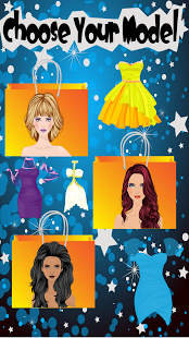 Screenshots of the Shopping Fashion Dress for Android tablet, phone.