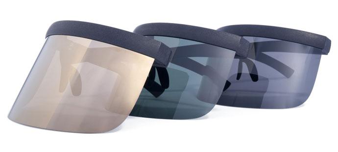 Mykita & Bernhard Willhelm SS2013 sunglass-visor hybrid