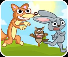 Bắt thỏ vào chuồng, chơi game vui 24h online