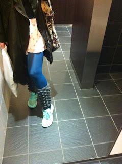 fashion, blogger, coat, leg warmers