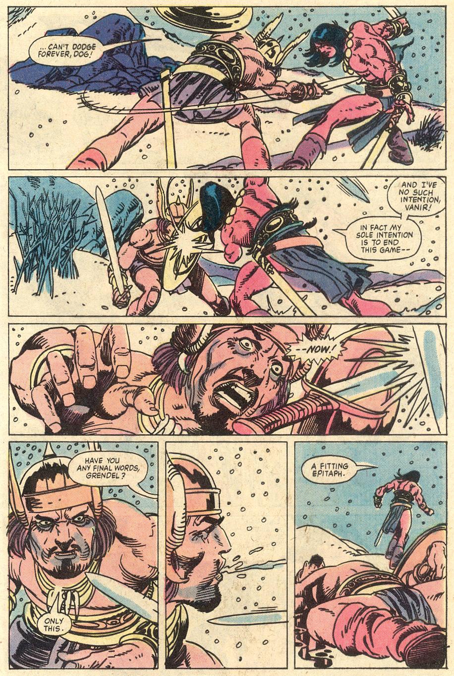 Conan the Barbarian (1970) Issue #127 #139 - English 19