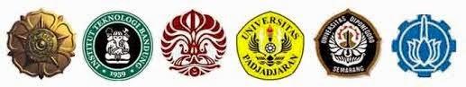 logo universitas, daya tampung