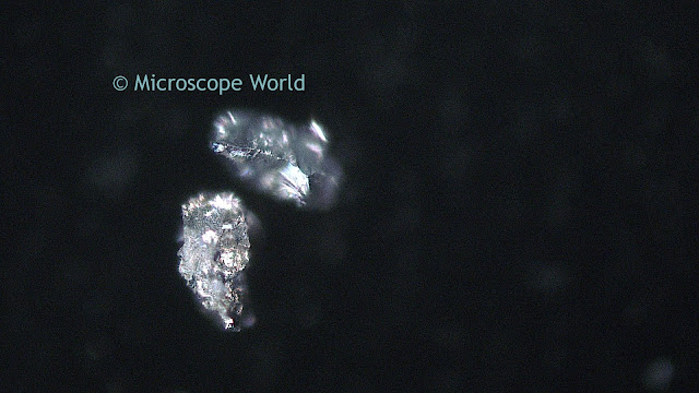 Silver under the microscope.