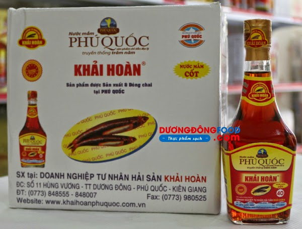Nuoc mam Phu Quoc loai dam 1