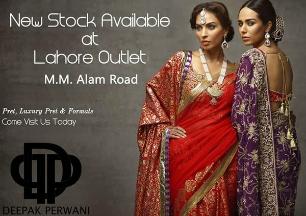 Deepak Perwani Bridal Dress Collection 2013-14 For Girls & Women