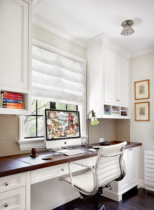 Cut And Dry Beautiful Home Office Decorating Ideas