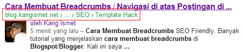 cara membuat breadcrumbs seo friendly