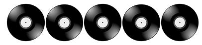 Vinyl Album Separator