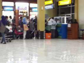 Antrian Airport Tax di Bandara