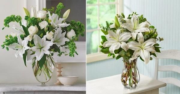 Lily Flower Arrangement Is So Beautiful Father Flower Arrangement
