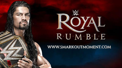 WWE Royal Rumble 2016 WWE Championship Match